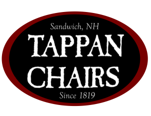 Tappan Chairs Logo Oblong Oval