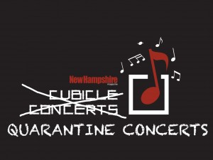 Quarantine Concerts Logo On Black32