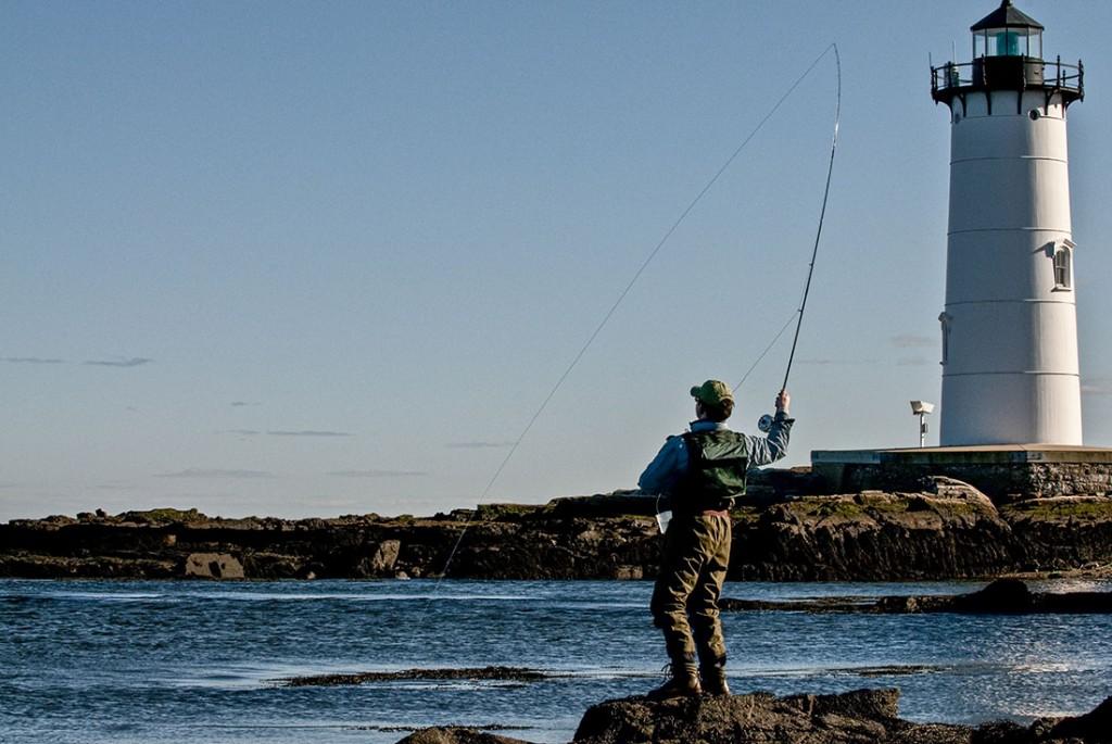 Fly Fishing On Teh Nh Coast