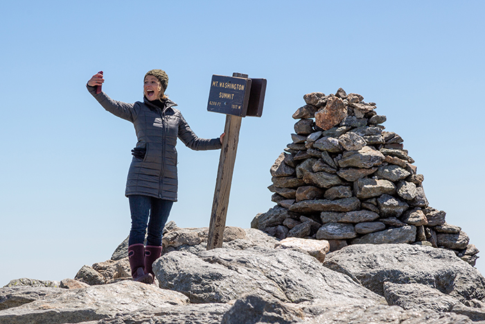 Sam At Summit Of Mount Washington State Park2
