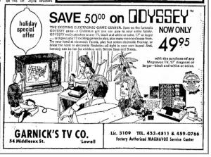Odyssey Ad 1973