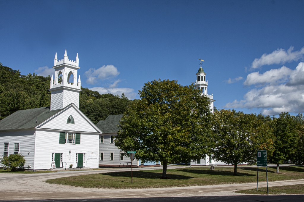 4725 Washington Common, Town Hall, Old School And Congregational Church, Route 31, Washington Nh