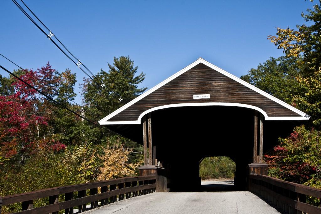 9453 The Rowell Covered Bridge Hopkinton