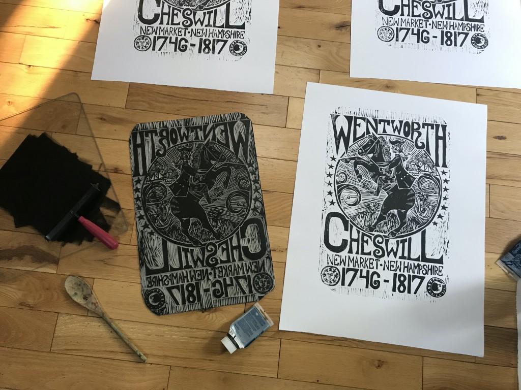 John Herman S Wentworth Cheswill Print
