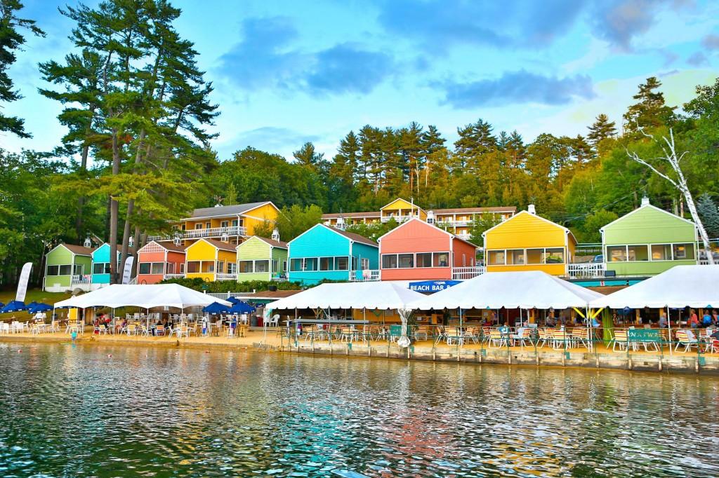 The Naswa Resort on Improved Lake Winnipesaukee