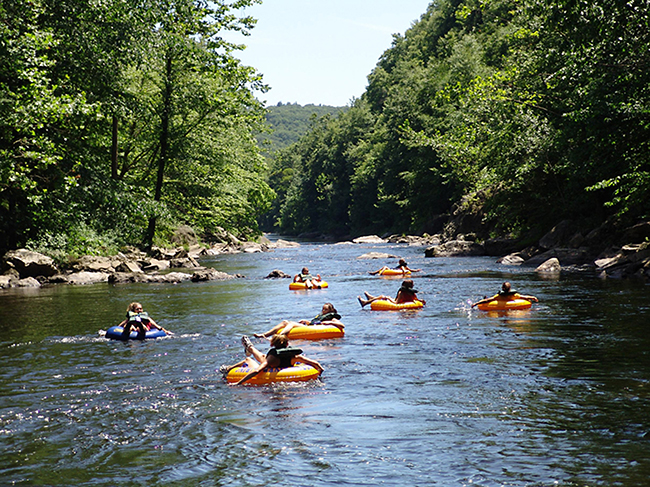Where To Go River Tubing in New Hampshire