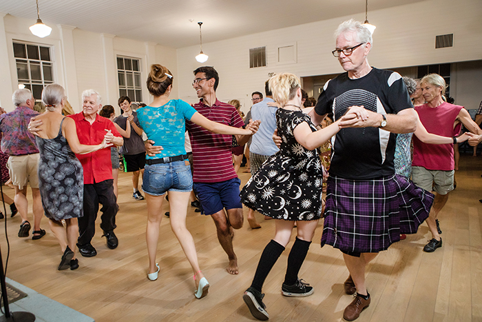 The Communal Charms of Contra Dancing